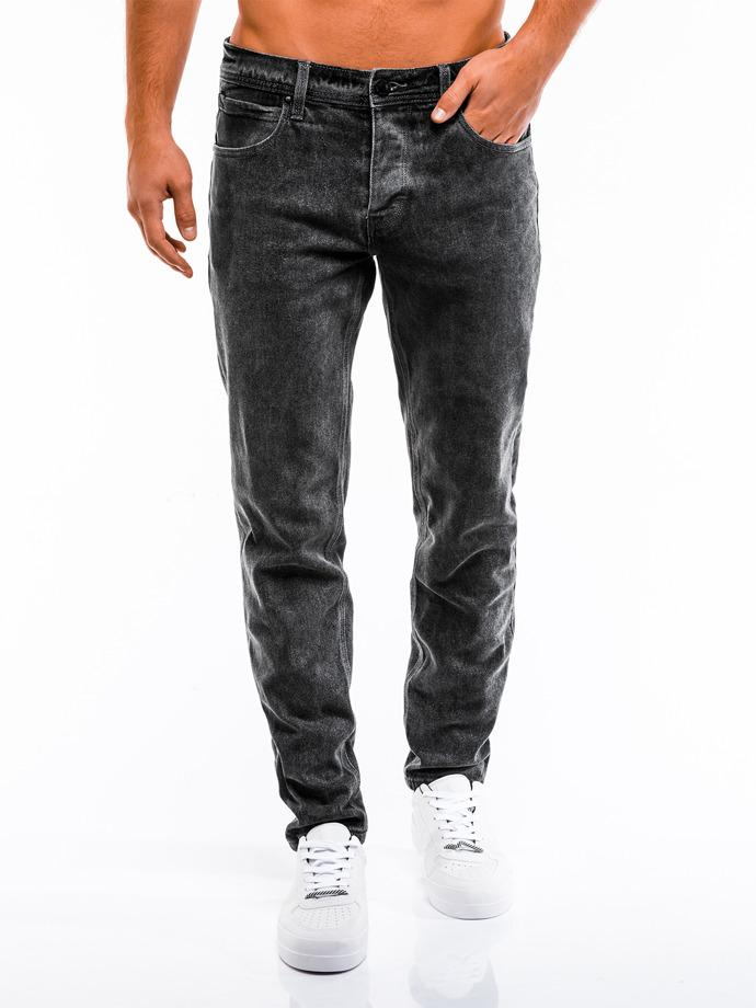 Spodnie męskie jeansowe 863P czarne