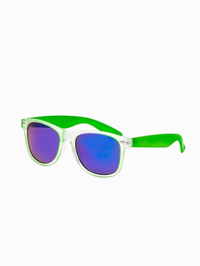Okulary przeciwsłoneczne 169A zielonebeżowe zielony