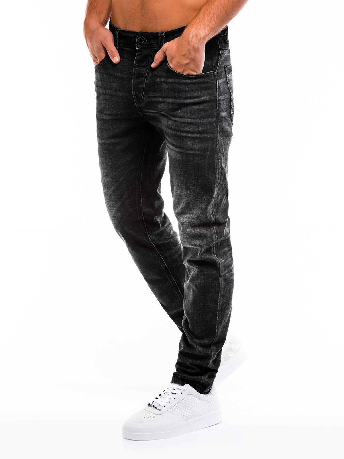 Spodnie męskie jeansowe 857P czarne